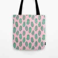 Pattern Project #42 / Ferns Tote Bag