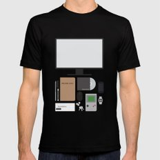 Awesome stuff. SMALL Black Mens Fitted Tee