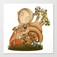 Lullaby Canvas Print