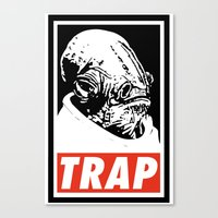 Obey Ackbar's TRAP Canvas Print