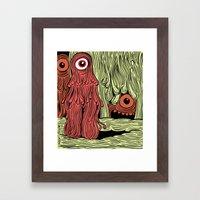 MonsterMold Framed Art Print