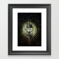 Steam Machine Framed Art Print