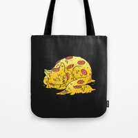 Pepperoni Pizzacat Tote Bag