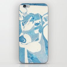 Deerest Blue iPhone & iPod Skin