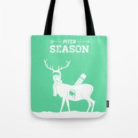 Pitch Season (Killed by work) Tote Bag