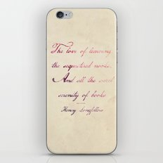 the love of iPhone & iPod Skin