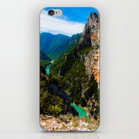 Verdon Gorge  iPhone & iPod Skin