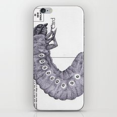 Bettle Larvae Postcard iPhone & iPod Skin