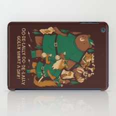 Oo-de-lally (brown Versi… iPad Case