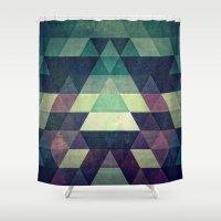 Dysty_symmytry Shower Curtain