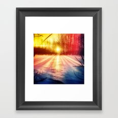 Take The Prismatic Path (001) Framed Art Print