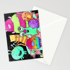 Intergalactic Dance Party Stationery Cards