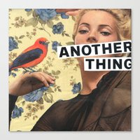 Another Thing I Wanted To Tell You Canvas Print