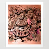 St Pauls London Art Print