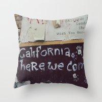 postcard from giltspurt street... Throw Pillow