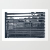 Black & White Background Art Print