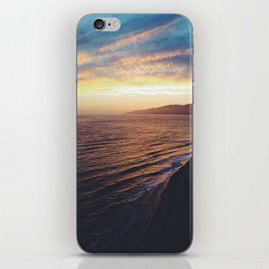 Point Dume Sunset iPhone & iPod Skin