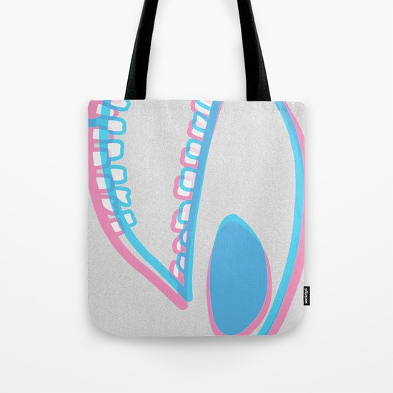 WIT monster head Tote Bag