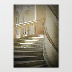 Les Escaliers Canvas Print