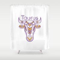 Deco Taurus Shower Curtain