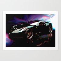 New Ferrari Art Print