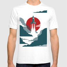 The Voyage Mens Fitted Tee White SMALL