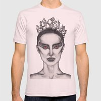 Natalie Portman - Black Swan Mens Fitted Tee Light Pink SMALL