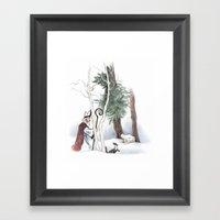 St Nicholas And The Pine… Framed Art Print