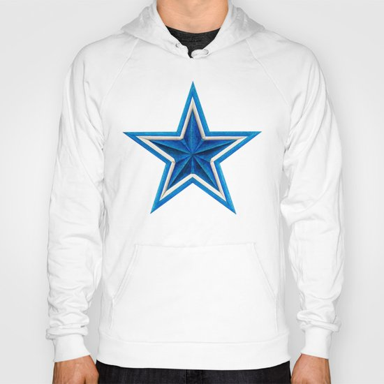 Blue Star Hoody