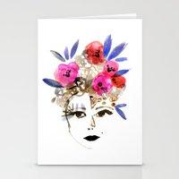 Matriarch Tribal Goddess Stationery Cards