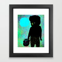 El Sol Framed Art Print