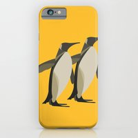 Penguins mate for life iPhone 6 Slim Case