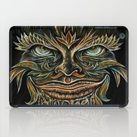 Forest Elemental Color iPad Case