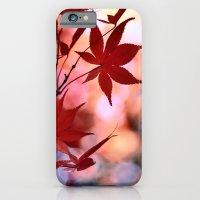 iPhone & iPod Case featuring Maple Dance by LudaNayvelt