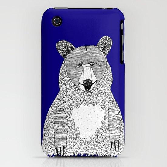 Blue Bear iPhone & iPod Case