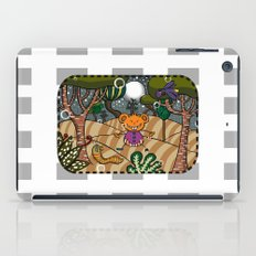 There are terrible some things in the woods!!! iPad Case