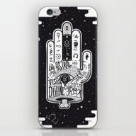 iPhone & iPod Skin featuring Hand Of Fate by Naniii