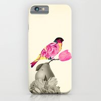 iPhone & iPod Case featuring The Bird & the Pear by TatiAbaurreDesigns