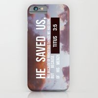 HE SAVED US iPhone 6 Slim Case