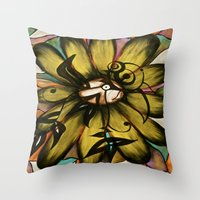 Let The Sunshine In (Sunflower) Throw Pillow