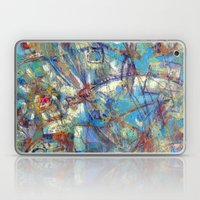 Dragonflies in blue Laptop & iPad Skin