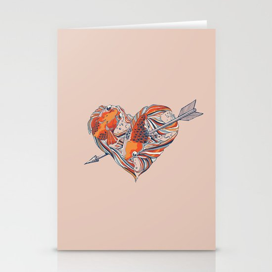 Form of Love Stationery Card