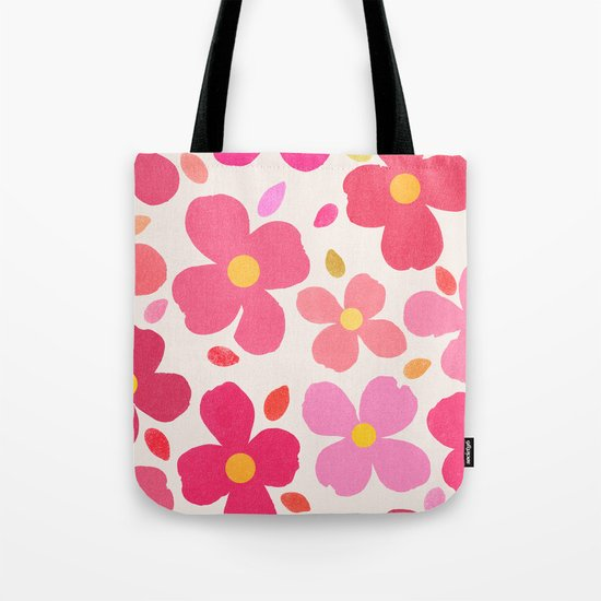 Dogwood Pink Tote Bag