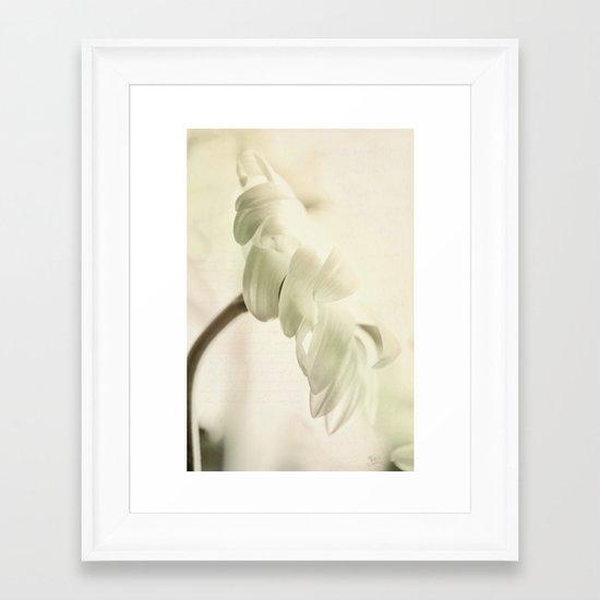 Echoes of Love Framed Art Print