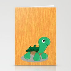 The cute turtle Stationery Cards