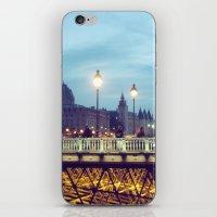 Paris At Night: Pont Neu… iPhone & iPod Skin