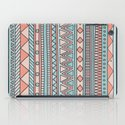 Tribal #4 (Coral/Aqua) iPad Case