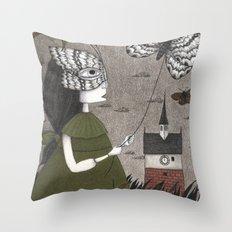 Oda (An All Hallows' Eve Tale) Throw Pillow