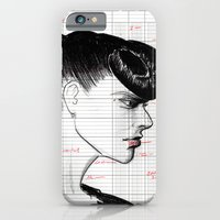 Fashion Hair With Ledger… iPhone 6 Slim Case