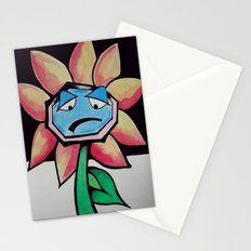 Barry the Bipolar marigold  Stationery Cards